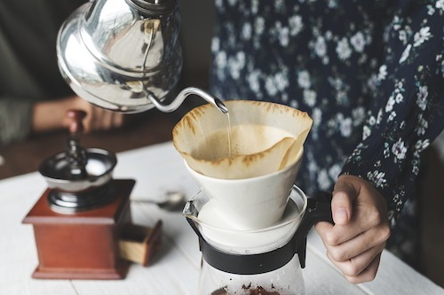 การเลือกชงกาแฟ